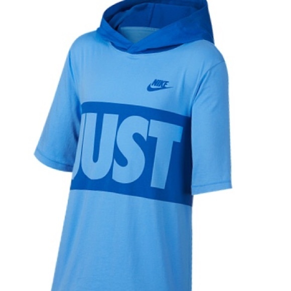 Nike Other - Nike Sportswear Just Do It Graphic Hooded T-Shirt
